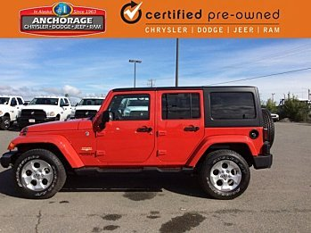 2014 Jeep Wrangler 4WD Unlimited Sahara for sale 100881721